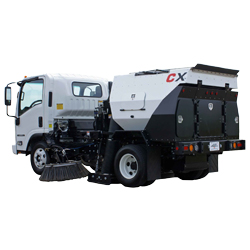 CXi - Mounted Parking Lot Sweeper