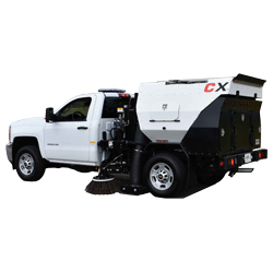 Victory CXG - Mounted Parking lot sweeping Machine