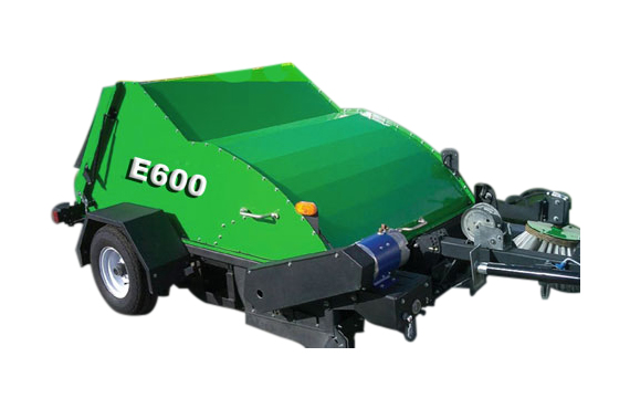 The Victory E600 - Tow Behind Lawn Sweepers