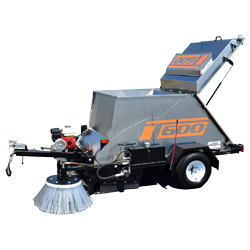 T 600 - Battery Powered Tow Behind Sweepers