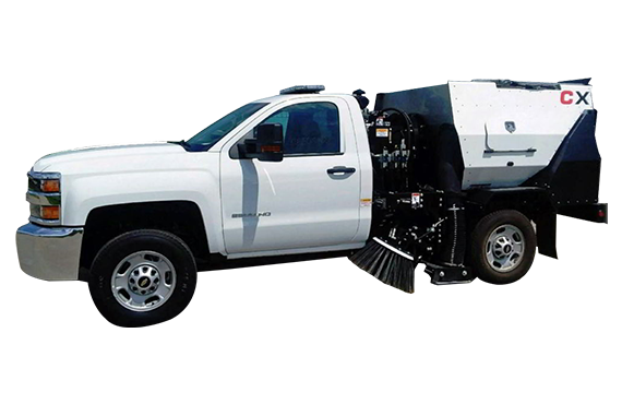 CXG - Vehicle Lots and Driveways Sweepers