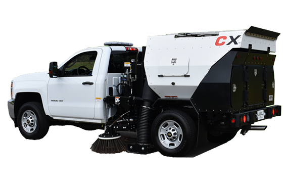 CXG - Parking Area Sweeper
