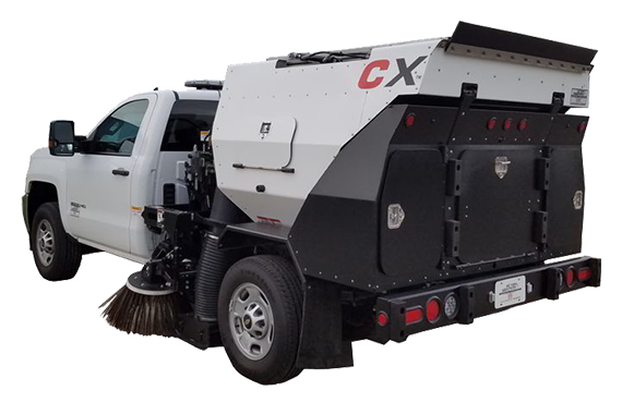 Victory's CXG - Road Sweeping Machine