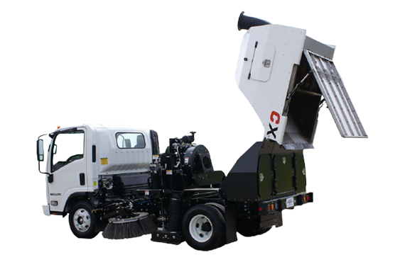 The Victory CXi - Parking Area Sweeper