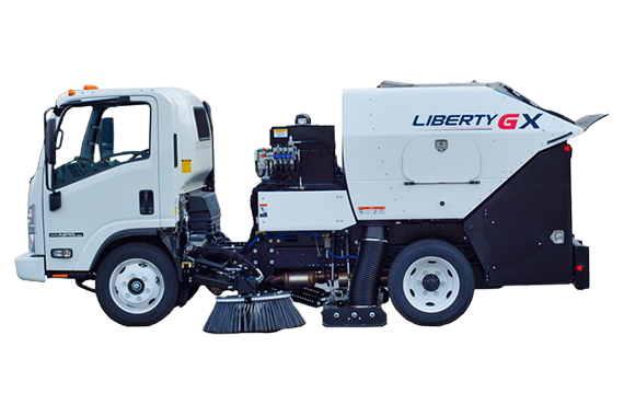 Liberty GX - Vehicle Lots and Driveways Sweepers