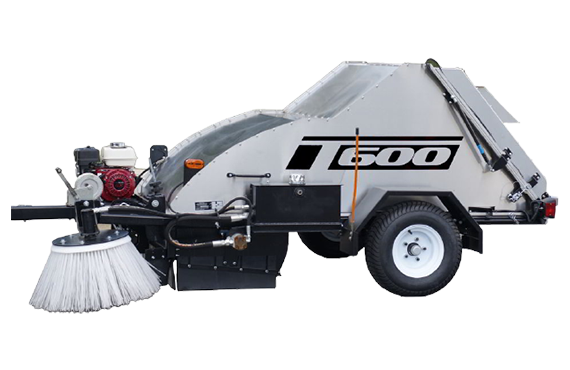 The Victory T600 - Tow behind sweeper